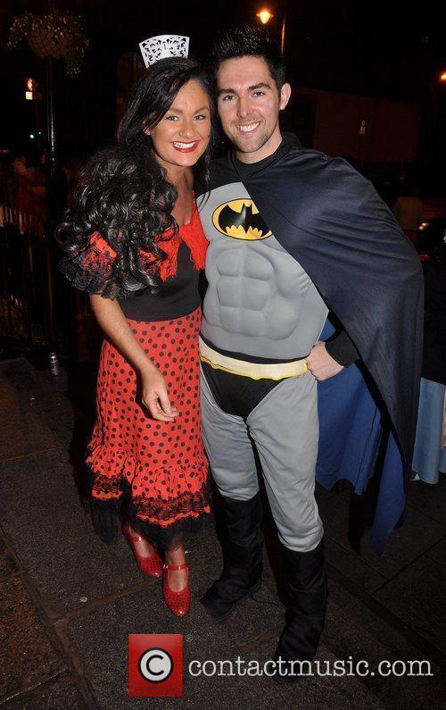 Geraldine O'Callaghan, Edward Smith Krystle nightclub's Halloween 2010...