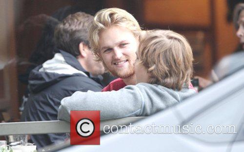 Wyatt Russell Kurt Russell and his son Wyatt...