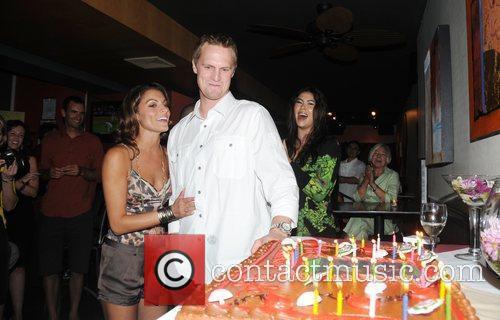 Stephanie Lagrossa and Kyle Kendrick Kyle Kendrick celebrates...