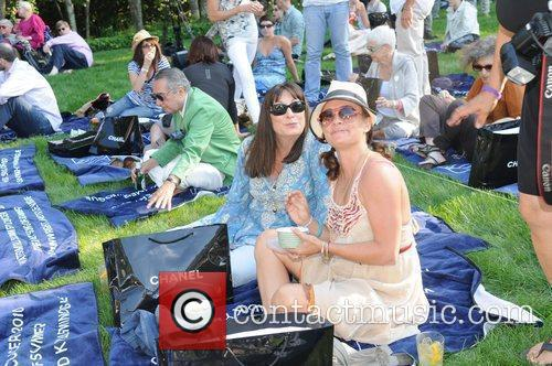 Angelica Huston and Savannah Buffet Kylie Minogue and...