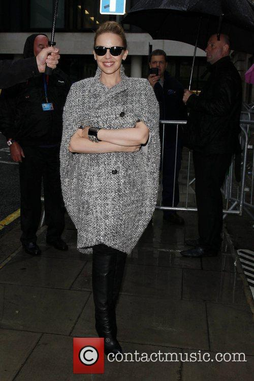 Arriving at the BBC Radio 2 studios