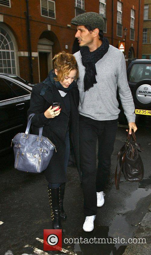 Kylie Minogue and Boyfriend Andres Velencoso 4