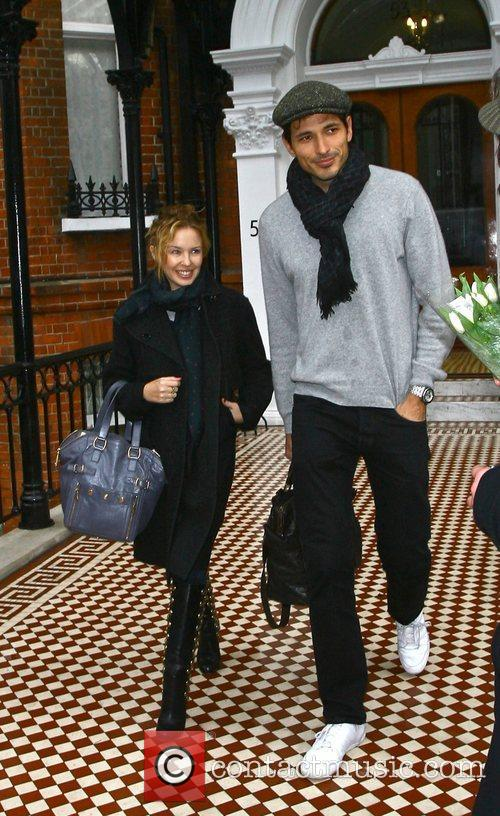 Kylie Minogue and Boyfriend Andres Velencoso 7
