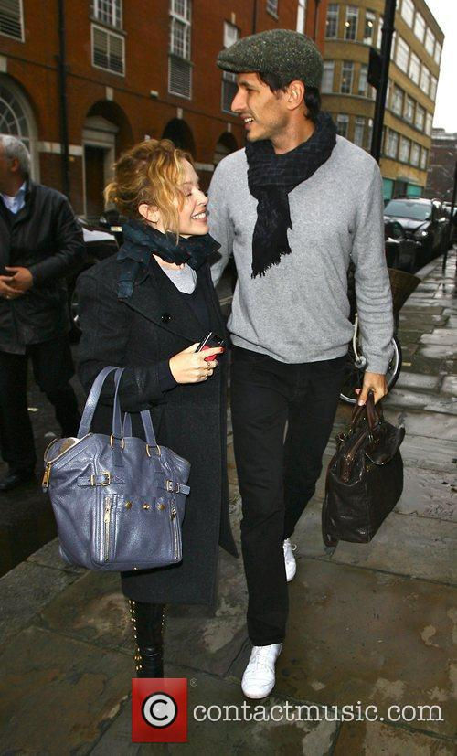 Kylie Minogue and Boyfriend Andres Velencoso 3