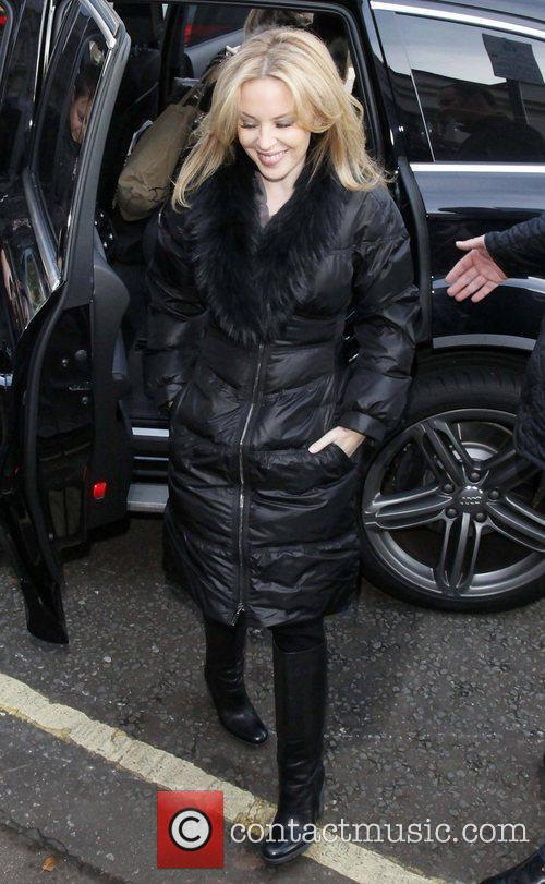 Arriving at the BBC Maida Vale studios