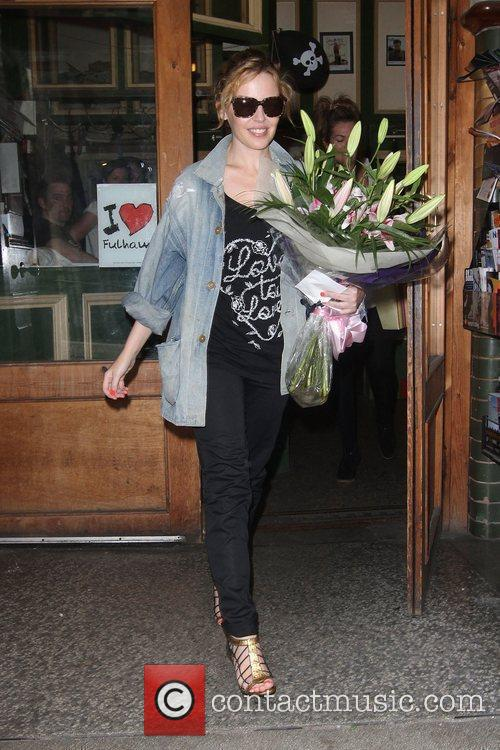 Kylie Minogue leaving the Dance Studios in Fulham,...