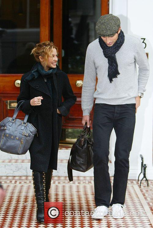 Kylie Minogue and boyfriend Andres Velencoso 11