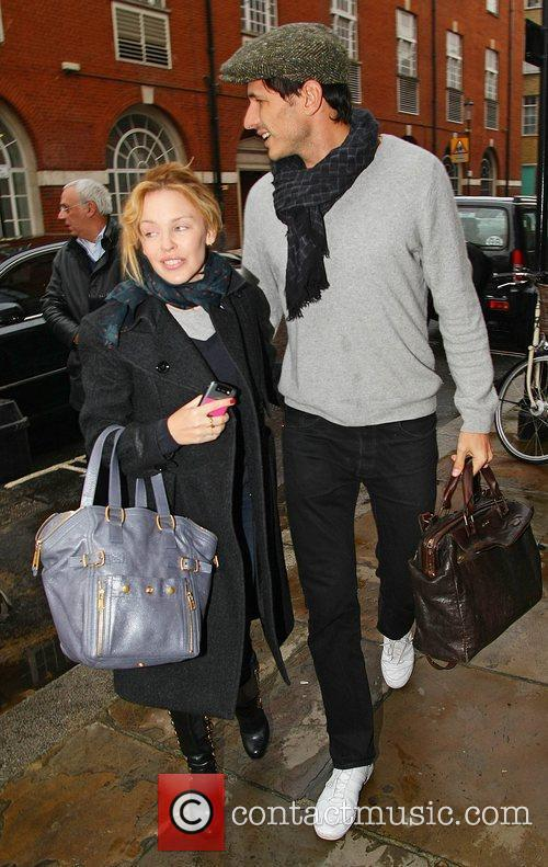 Kylie Minogue and boyfriend Andres Velencoso 14
