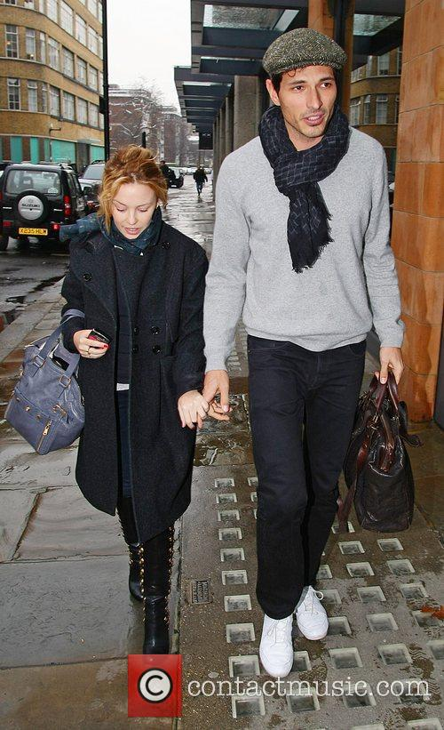 Kylie Minogue and Boyfriend Andres Velencoso 1