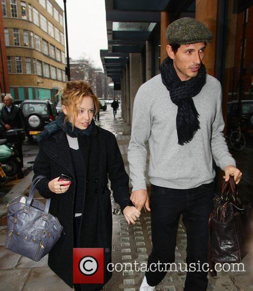 Kylie Minogue and boyfriend Andres Velencoso 13