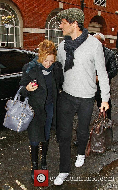 Kylie Minogue and boyfriend Andres Velencoso 12