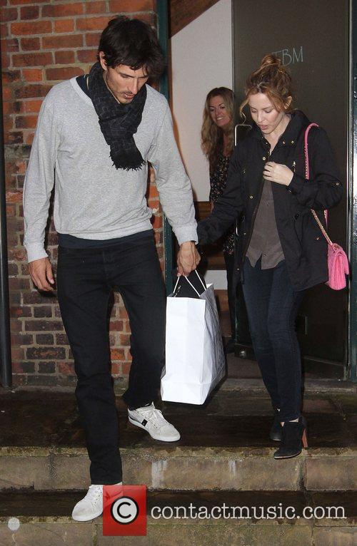 Kylie Minogue and Boyfriend Andres Velencoso 9