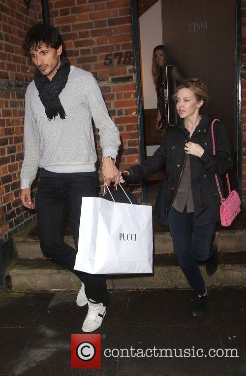 Kylie Minogue and Boyfriend Andres Velencoso 8