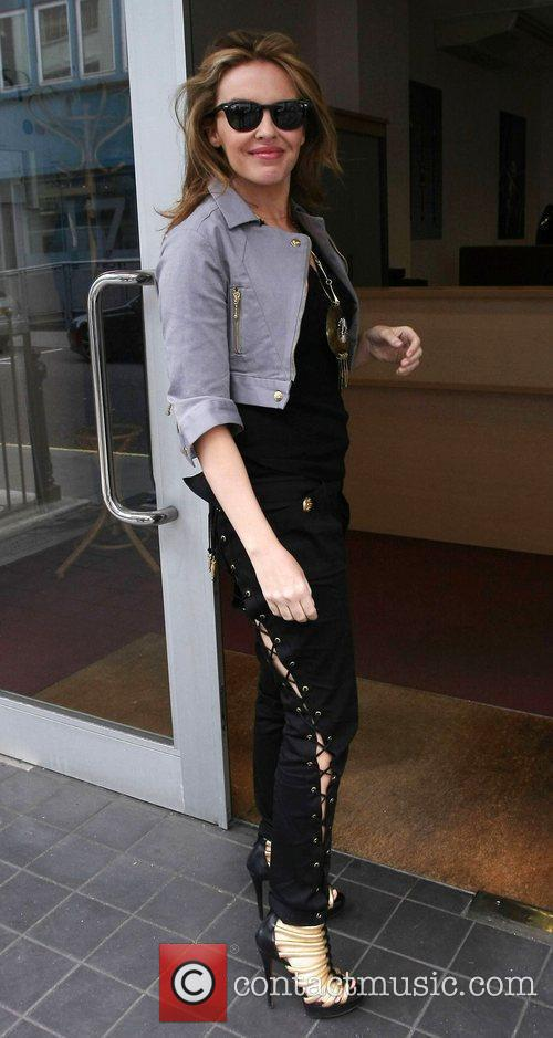 Arriving at Heart radio