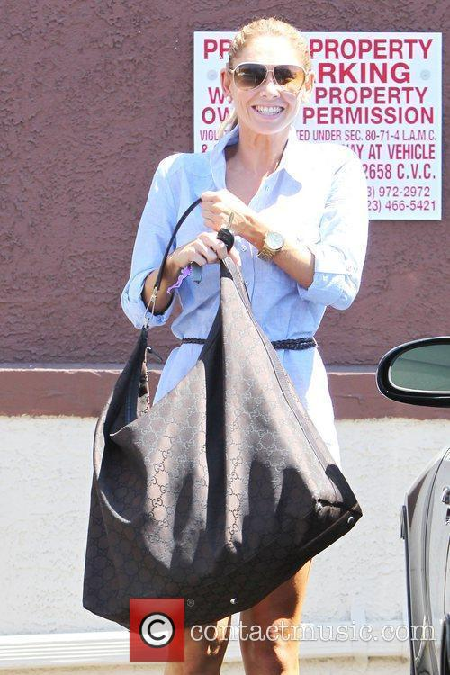 Is seen departing from 'Dancing With the Stars'...