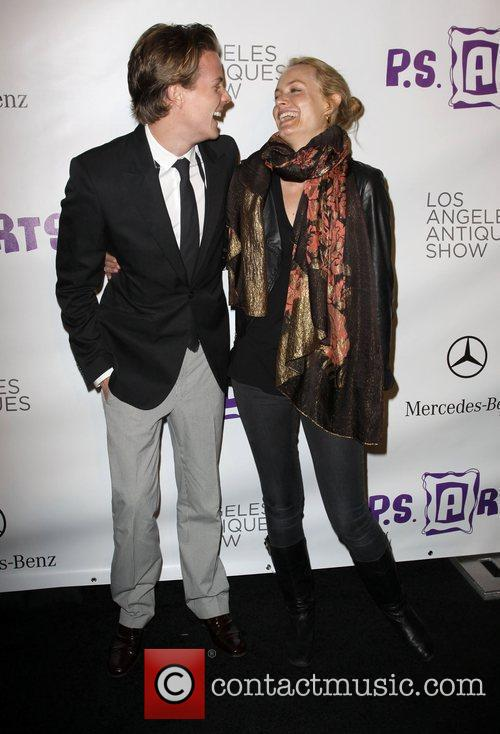Amber Valletta, Ross Cassidy Opening night preview party...