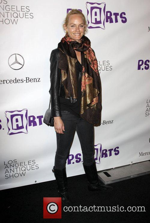 Amber Valletta, Opening night preview party of the...