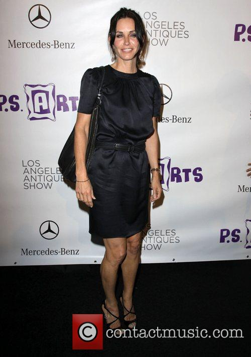 Courteney Cox Opening night preview party of the...