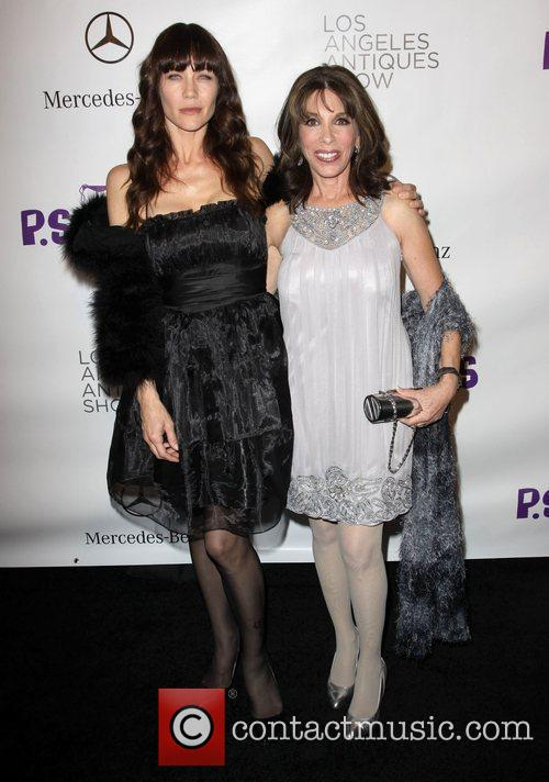 Stacy Haiduk, Kate Linder Opening night preview party...