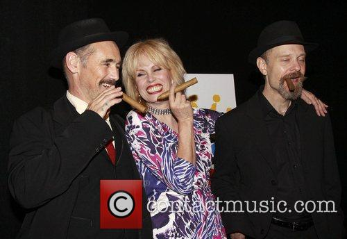 Opening night after party of the Broadway production...