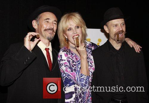Mark Rylance, Joanna Lumley and David Hyde Opening...