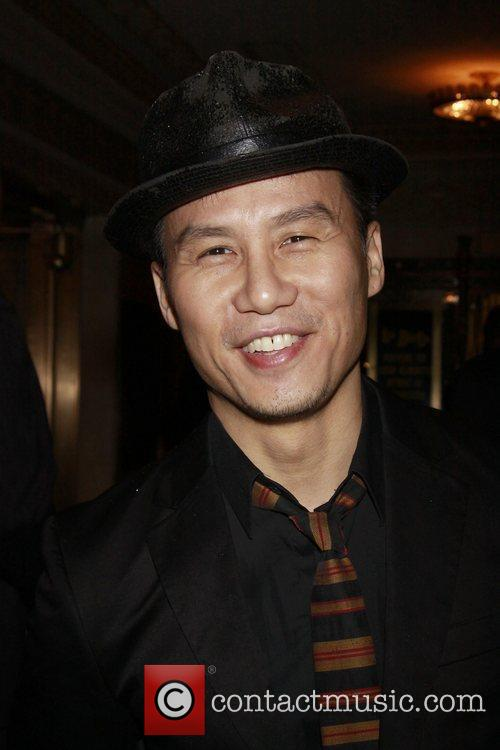 B.D. Wong Opening night of the Broadway production...