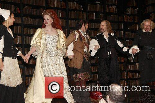 Joanna Lumley, David Hyde Pierce, Mark Rylance and The Music 4