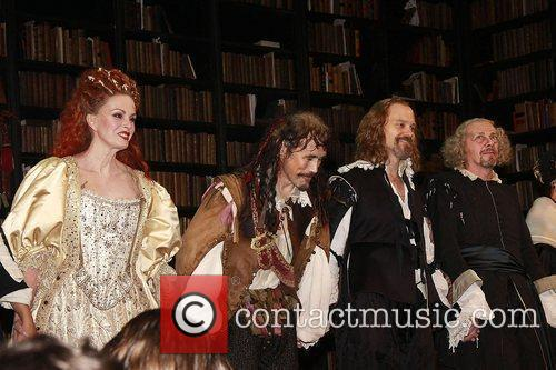 Joanna Lumley, David Hyde Pierce, Mark Rylance and The Music 7