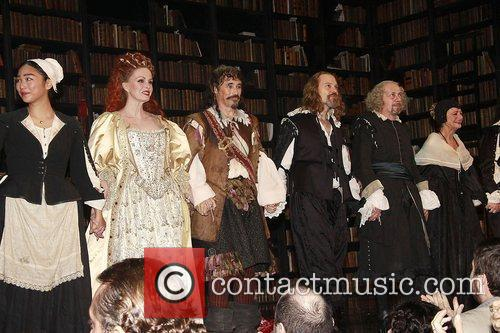 Joanna Lumley, David Hyde Pierce, Mark Rylance and The Music 6