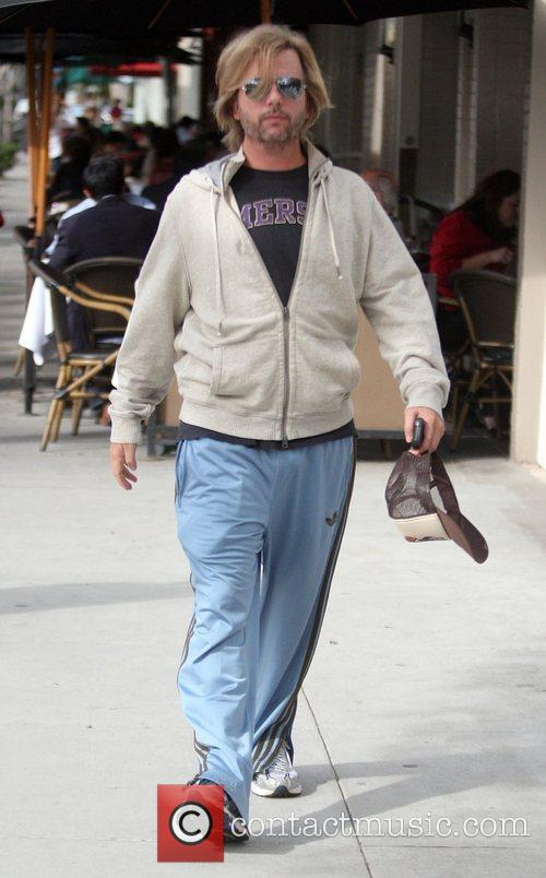 Actor/Comedian David Spade  out for a stroll...