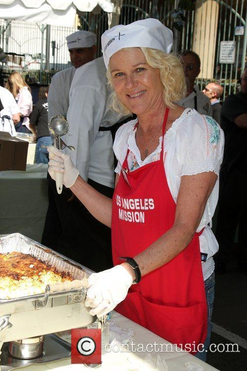 Los Angeles Easter Meal for the homeless at...