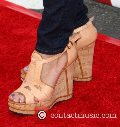 Cheryl Hines shoes 2010 Los Angeles Film Festival...