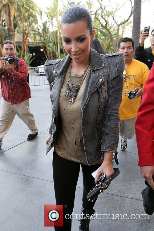 Kim Kardashian, Staples Center
