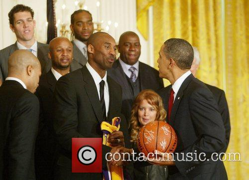Welcomed the NBA champion Los Angeles Lakers to...