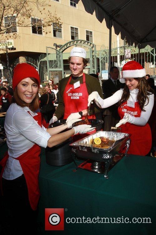 Alyssa Milano, Alex Beh and Jennifer Love Hewitt...