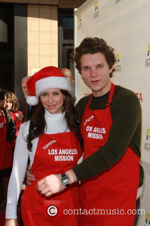 Alex Beh and Jennifer Love Hewitt  Celebrities...