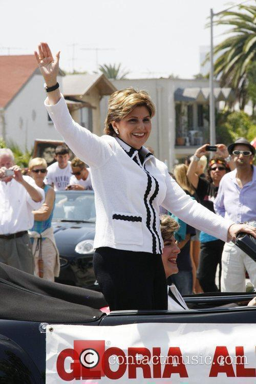 Attorney Gloria Allred during the LA Pride Parade