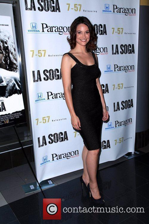 Denise Quinones New York Premiere of 'La Soga'...