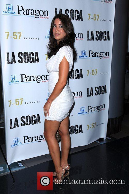 Kim Sozzi New York Premiere of 'La Soga'...
