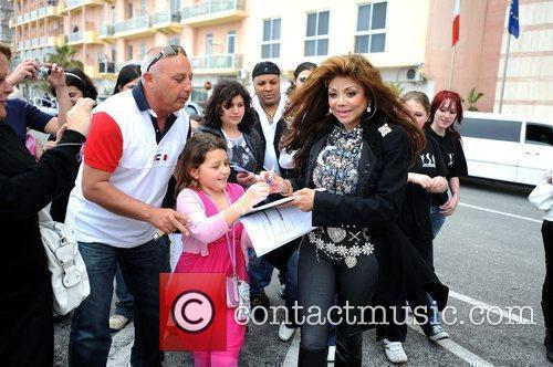 La Toya Jackson and Michael Jackson 7