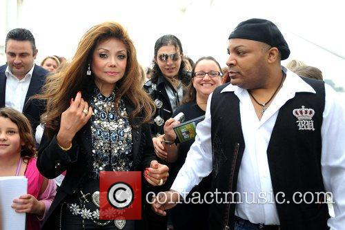 La Toya Jackson and Michael Jackson 5