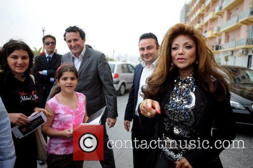 La Toya Jackson and Michael Jackson 34