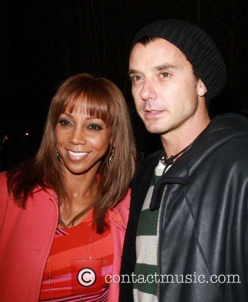Holly Robinson Peete and Gavin Rossdale 2