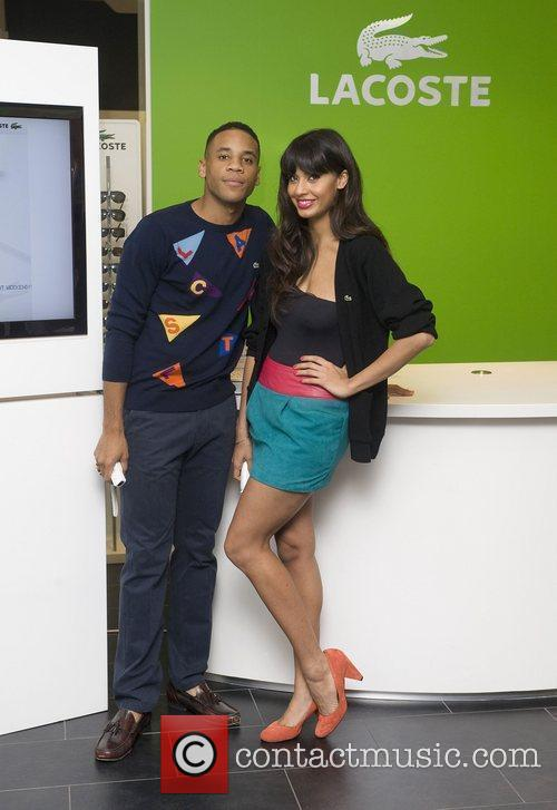 Reggie Yates and Jameela Jamil The launch of...