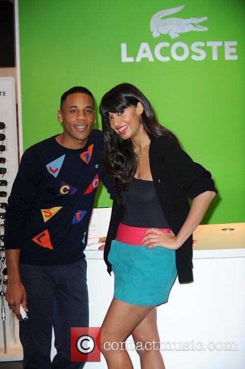 Jameela Jamil and Reggie Yates The launch of...