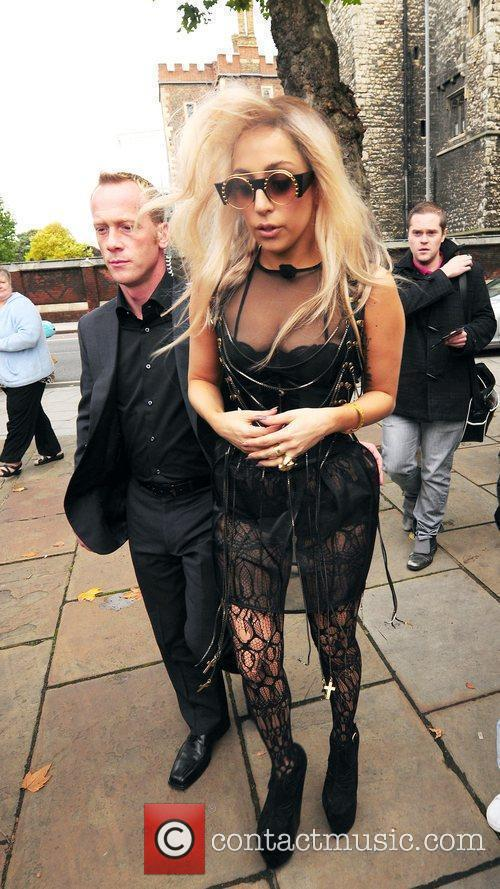 Lady Gaga, Anderson Cooper and Cnn 5
