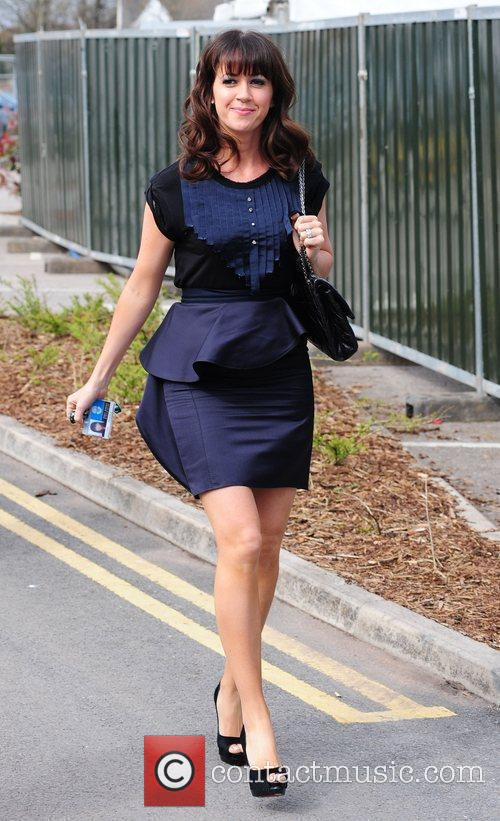 Sheree Murphy 'Ladies Day' at the horse racing...