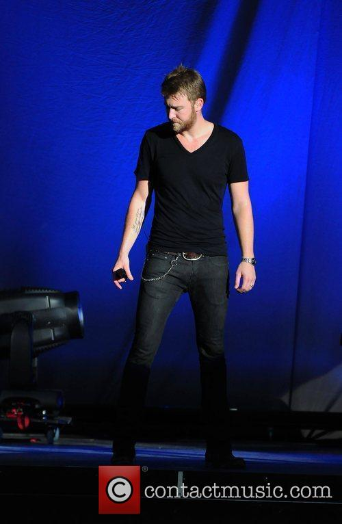 Charles Kelley of country music group Lady Antebellum...