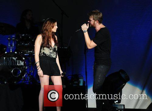 Hillary Scott and Charles Kelley of country music...