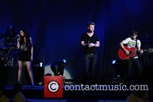 Hillary Scott, Charles Kelley and Dave Haywood of...